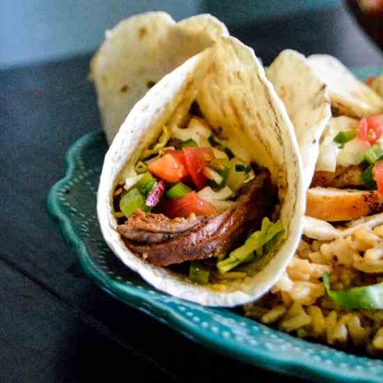 Brown Sugar Chipotle Steak Tacos