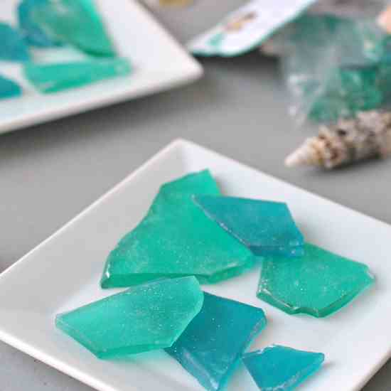Sea Glass Rock Candy