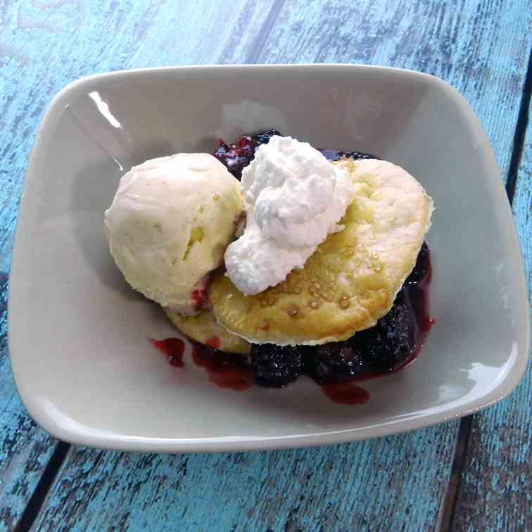 Blackberry recipes with bottom crust