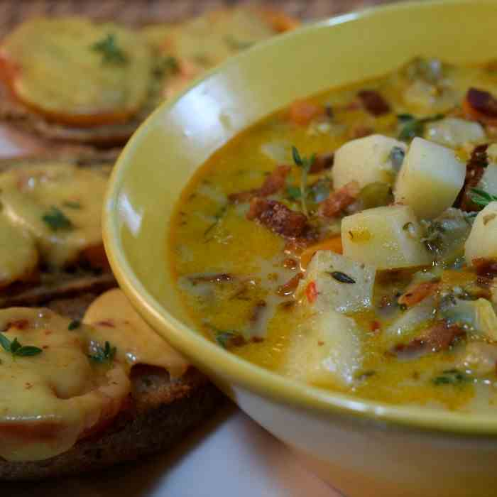 Coconut Clam Chowder (DF - GF)