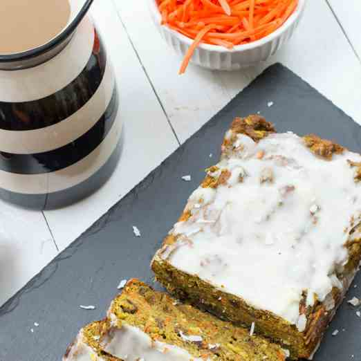 High Protein Carrot Cake Banana Bread