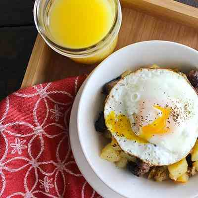 Simple Breakfast Hash Stir Fry