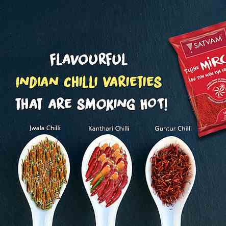 Flavourful Indian Chilli Varieties that ar
