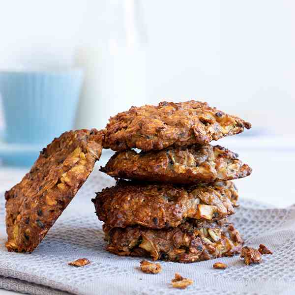 Easy and Healthy Oatmeal Cookies