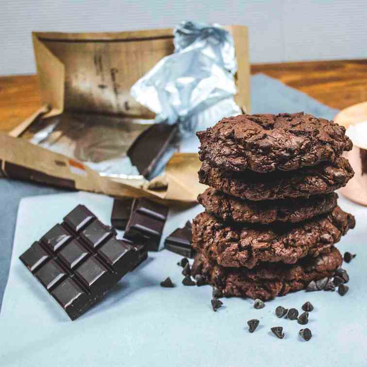 All Chocolate Cookies