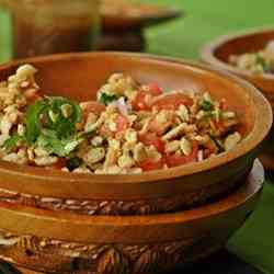 Rice crispy Bhel / Spicy snack salad