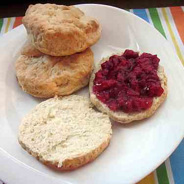2 Ingredient Biscuits, Easy Strawberry Jam