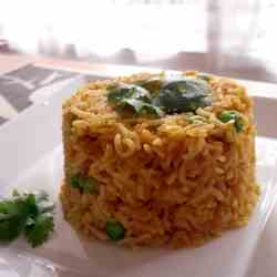 Red Lentils with Rice
