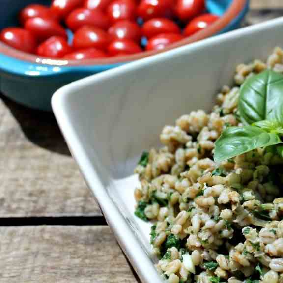 Barley and Spinach Risotto Recipe
