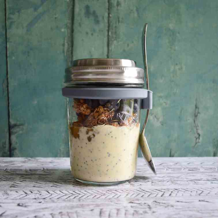 Lemon - Poppyseed Blueberry Parfait