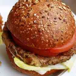 Asian Veggie Burgers