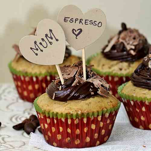 Espresso Chocolate Chip Cupcakes
