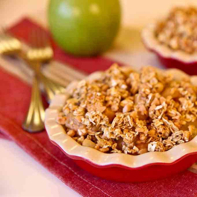 Speedy Stove Top Apple Crisp