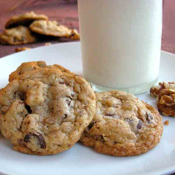 my ultimate favorite chocolate chip cookie