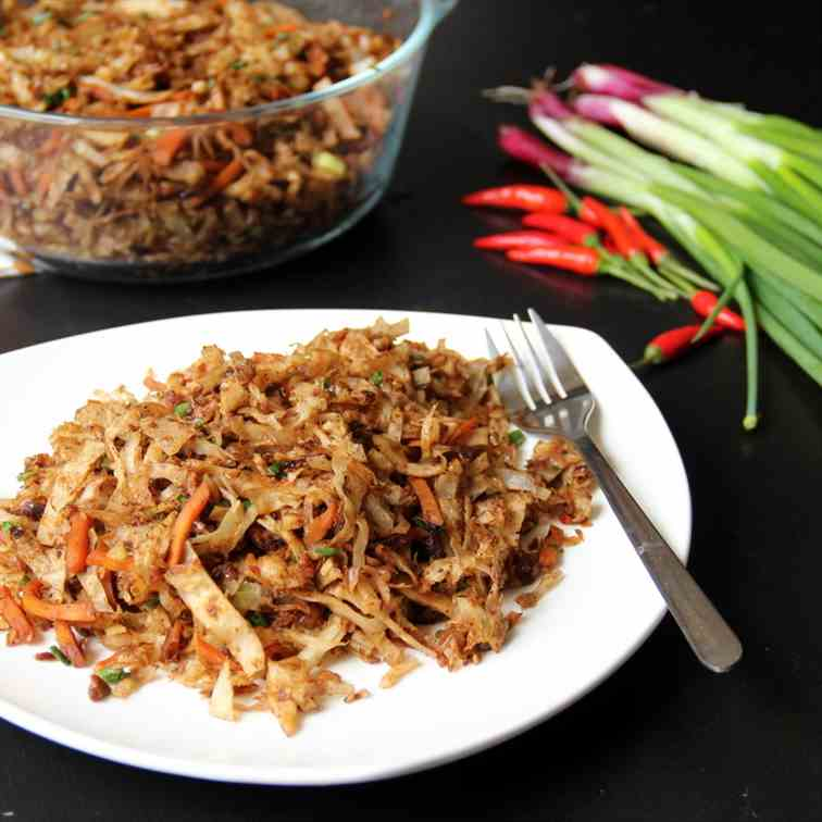 Vegetable Kottu