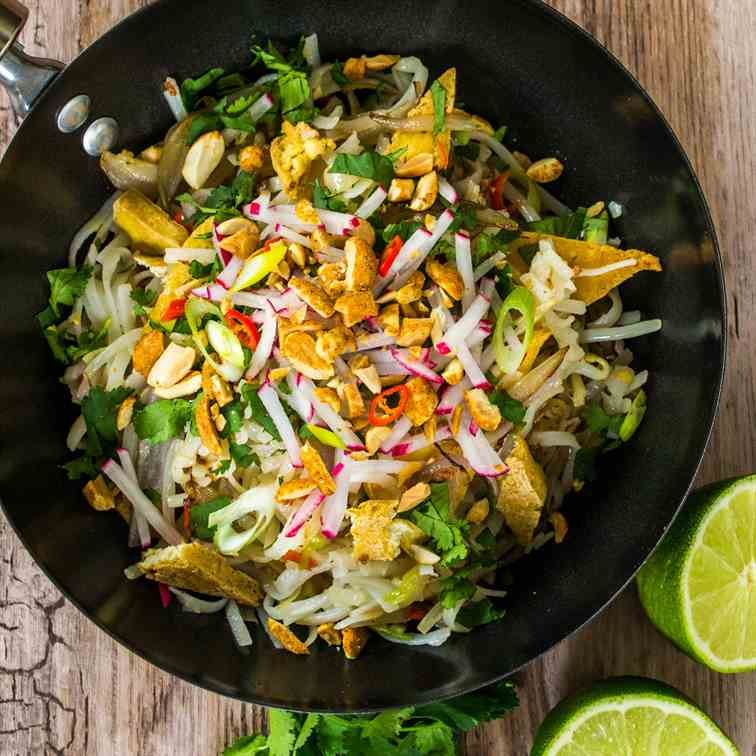 Ultimate Vegan Pad Thai