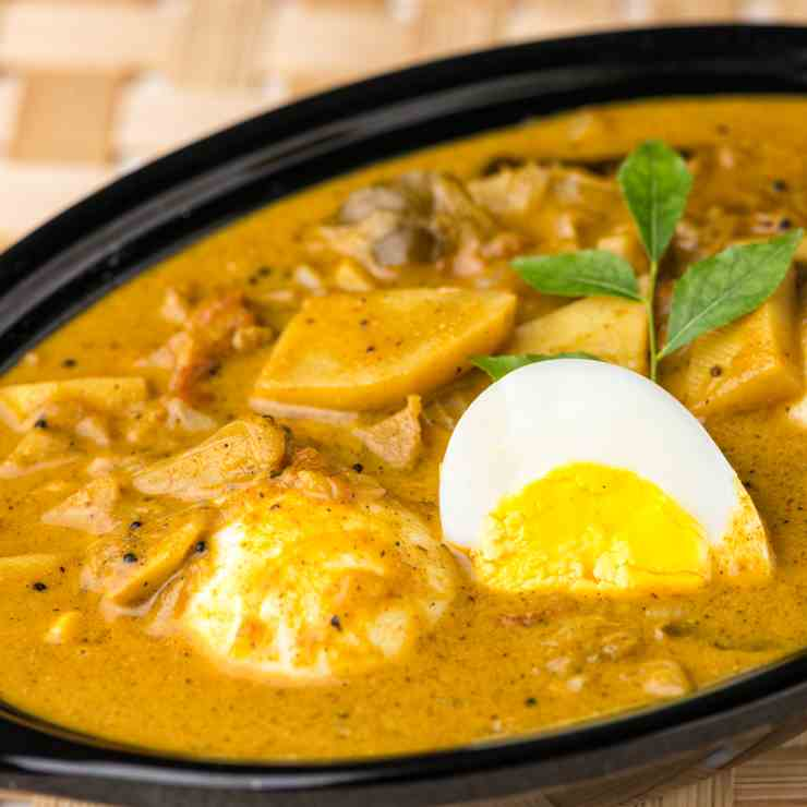 Kerala Egg Curry with Potatoes
