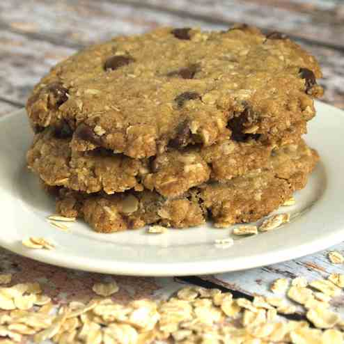 Vermouth Oatmeal Cookies