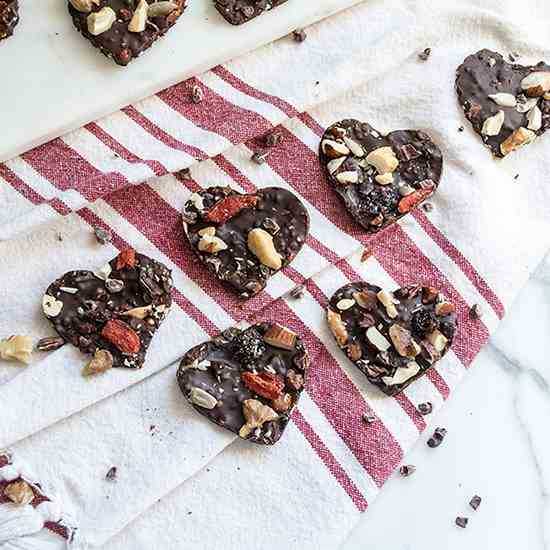 Heart Healthy Dark Chocolate Quinoa Bites