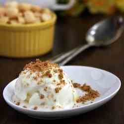 Pineapple Ginger Frozen Greek Yogurt