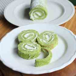 St. Patrick's Day Jelly Roll Cake