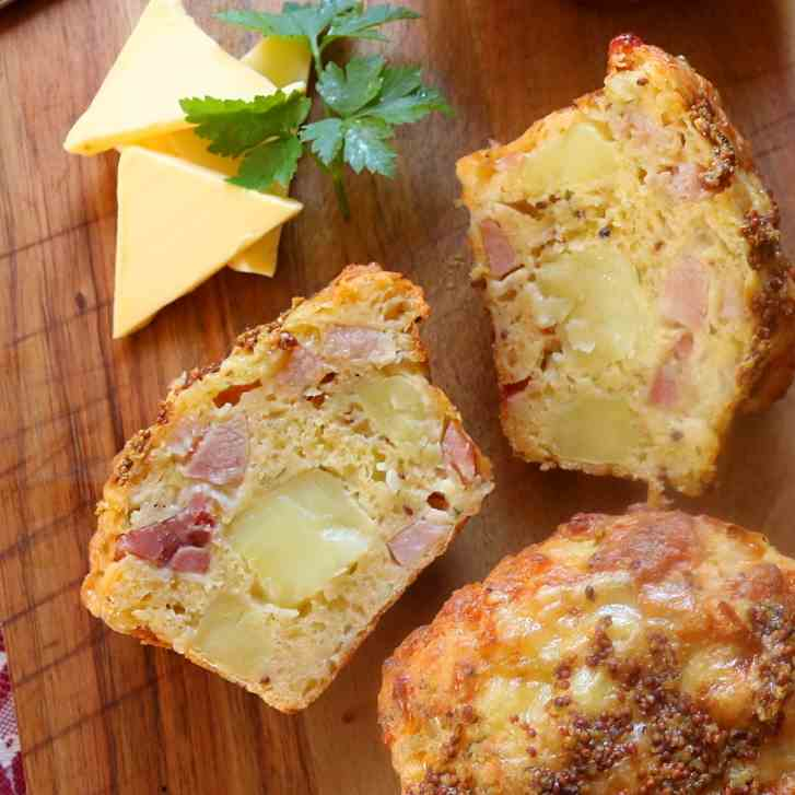 Potato, Ham, Cheddar - Wholegrain Mustard