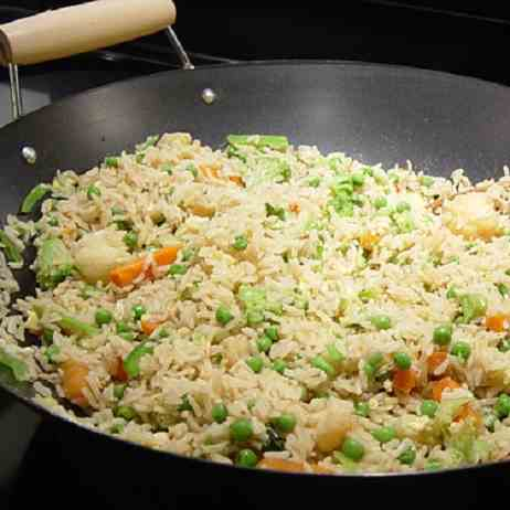 Fried Rice with Vegetable Recipe