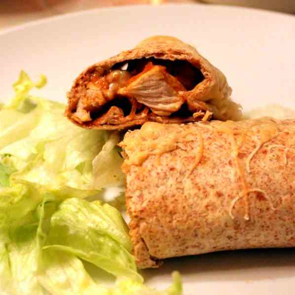 Micky's baked Chicken Wraps