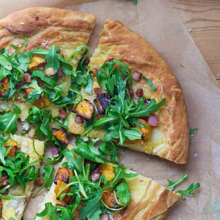 Roasted Butternut - Pancetta Pizza