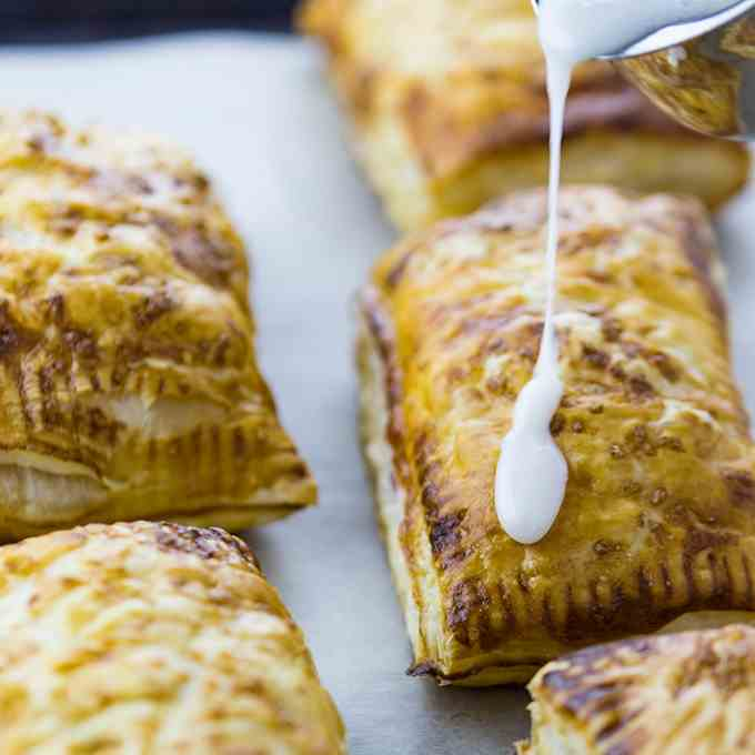 Easy Puff Pastry Cherry Hand Pies