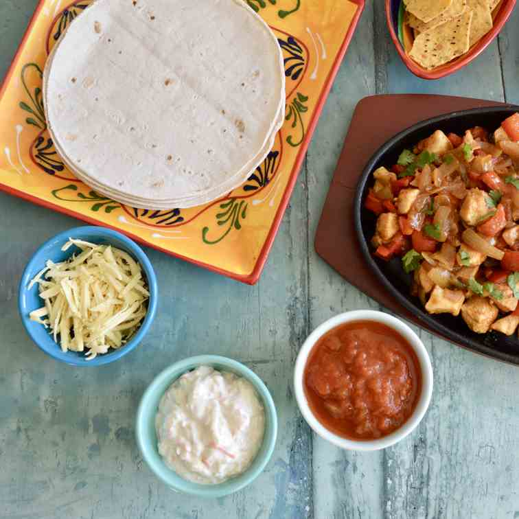 Mexican Chicken Sizzle