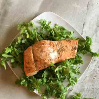 Oven Baked Salmon - Asian Style