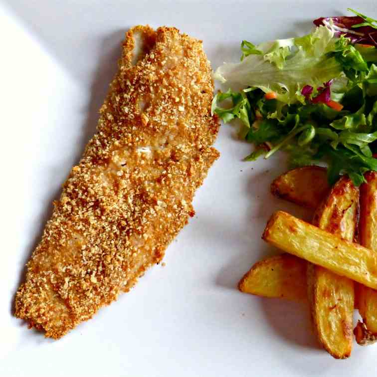 Baked Paprika Breaded Fish