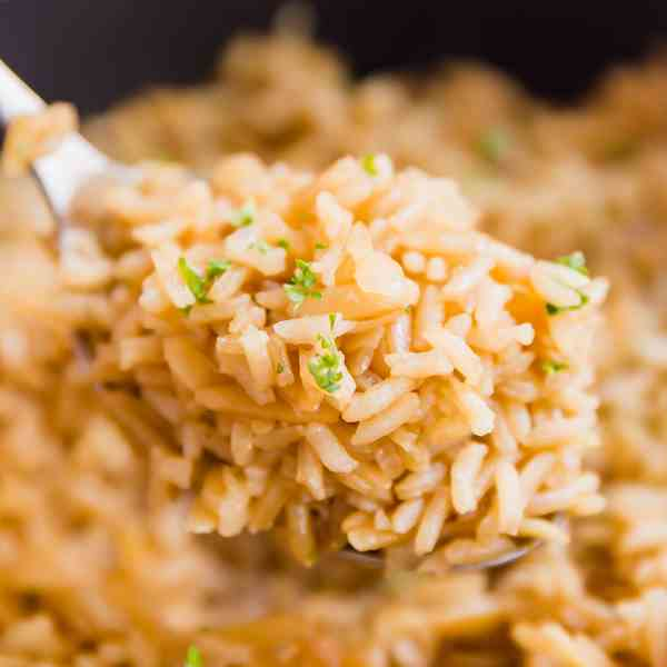 French Onion Rice Pilaf Recipe