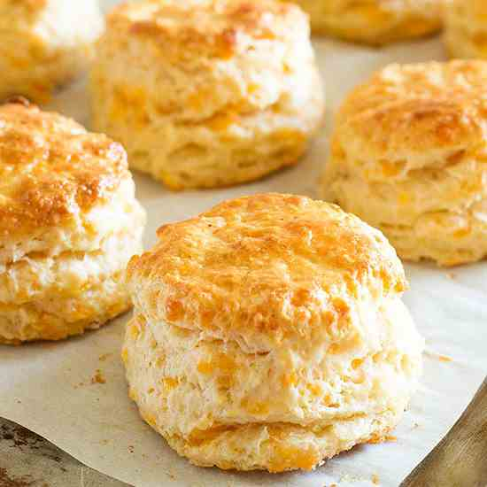 Cayenne and Cheddar Cheese Scones