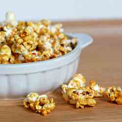 Caramel Corn with Sea Salt
