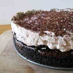 Quintuple Chocolate Pudding Pie