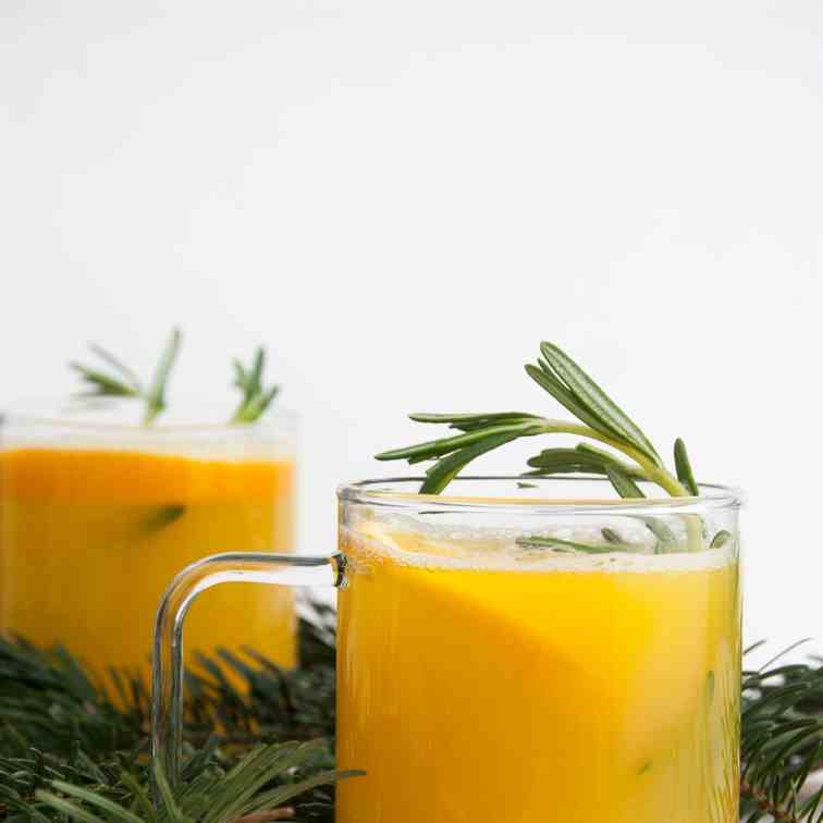 Orange Rosemary Punch