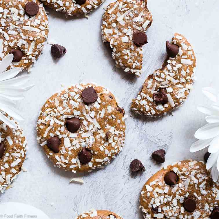 Coconut Almond Protein Cookies