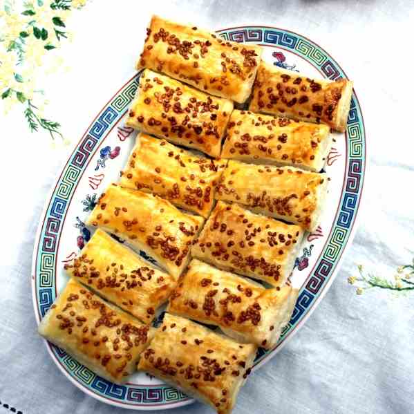 Puff Pastry with Sesame
