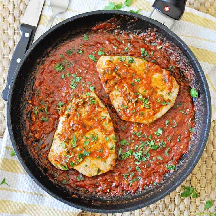 Spanish Tuna Steaks