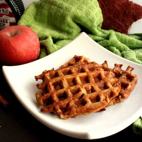 Apple-Cinnamon Waffles