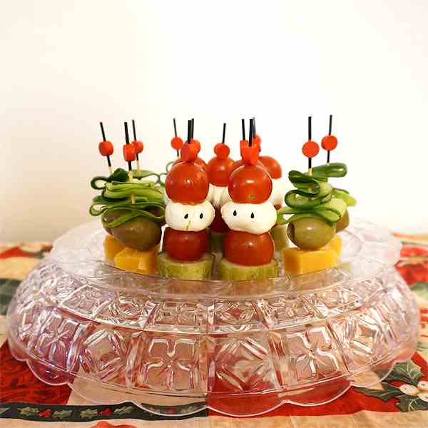 Cute and Easy Appetizer for Christmas