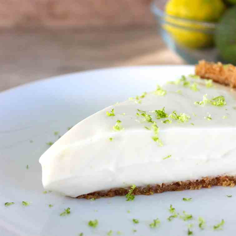 Paleo No Bake Key Lime Pie