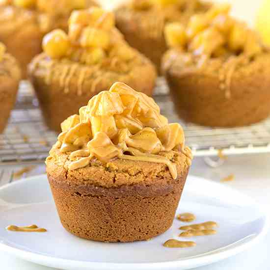 Apple Pie Peanut Butter Cookie Cups