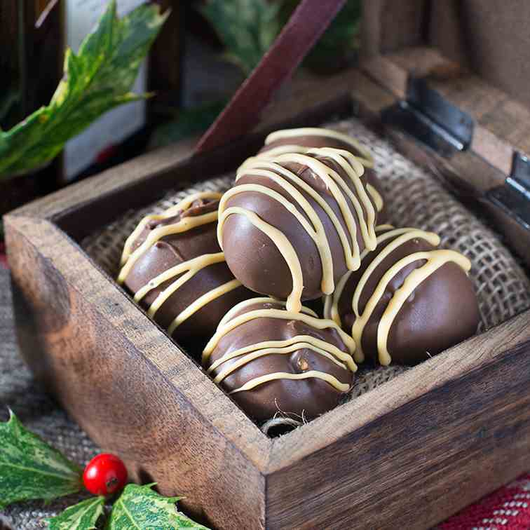 Orange Liqueur Truffles