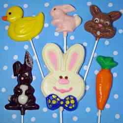 Handpainted Easter Chocolates