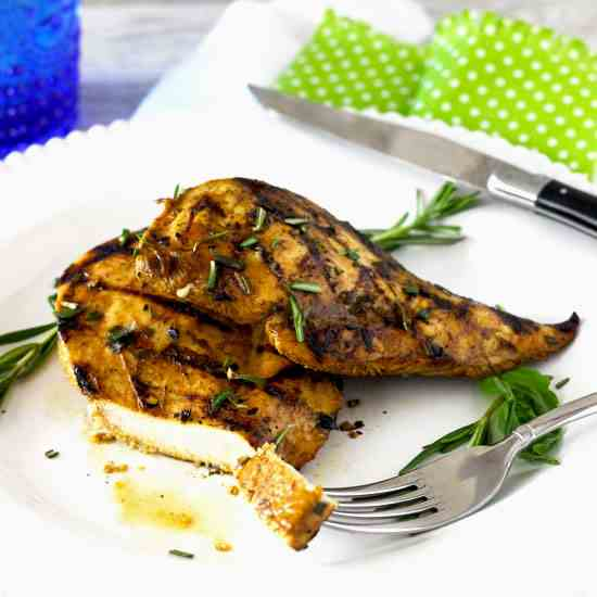 Grilled Chicken and the Best Marinade