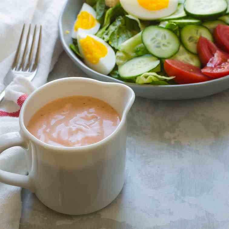 Easy Homemade Russian Dressing