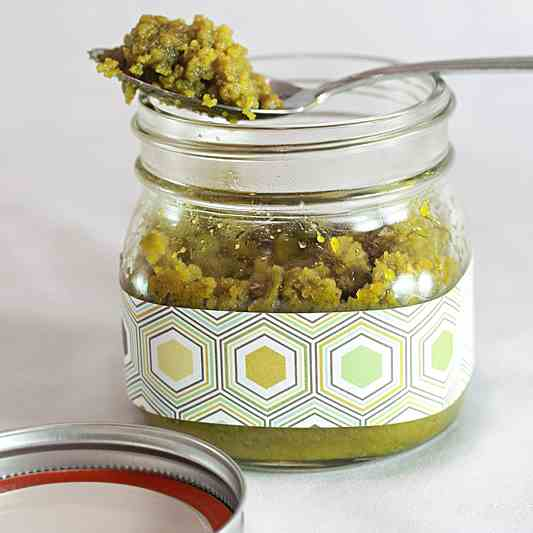 White Chocolate Pistachio Butter